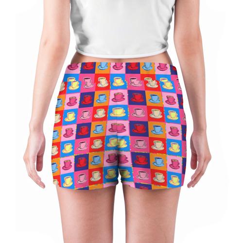 Женские шорты 3D  Фото 04, Поп арт 18
