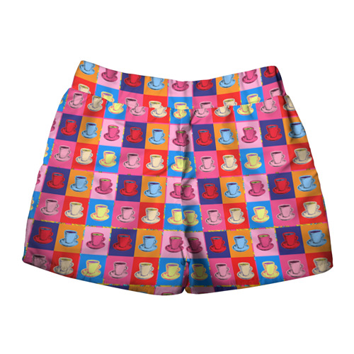 Женские шорты 3D  Фото 02, Поп арт 18