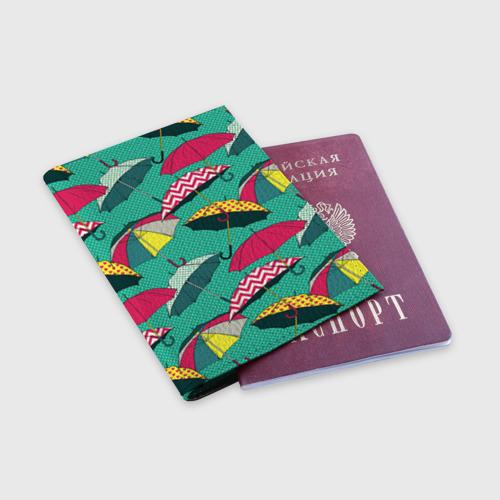 Обложка для паспорта матовая кожа  Фото 03, Поп арт 19
