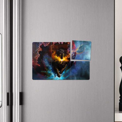 Магнитный плакат 3Х2  Фото 04, Космоволк