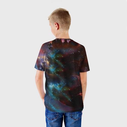 Детская футболка 3D Космоволк Фото 01