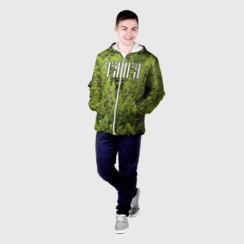 Мужская куртка 3D  Фото 03, Тайга