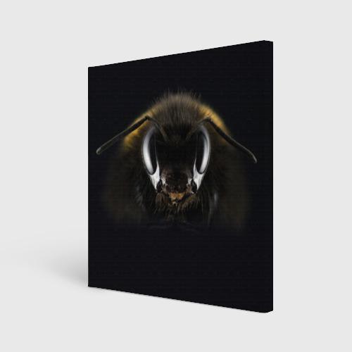 Холст квадратный  Фото 01, Пчела