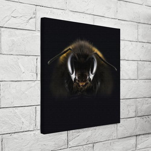 Холст квадратный  Фото 03, Пчела