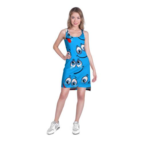 Платье-майка 3D  Фото 03, Смайлик