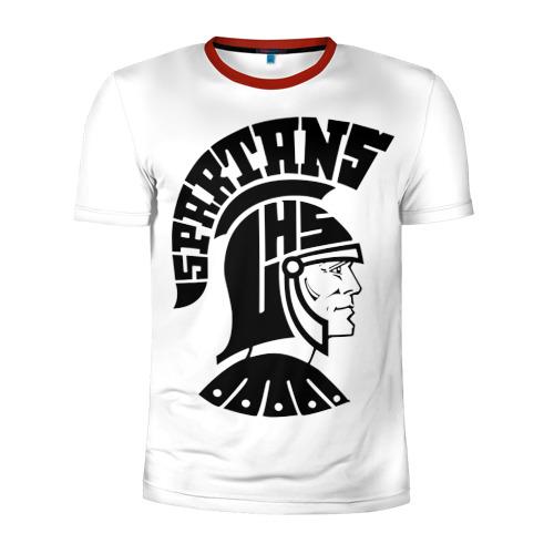 Мужская футболка 3D спортивная Спартанец