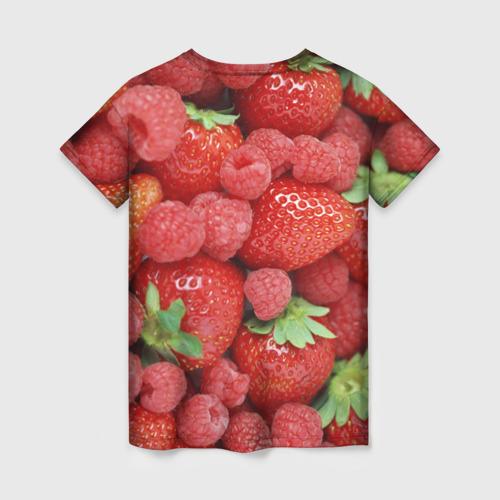 Женская футболка 3D Ягоды Фото 01