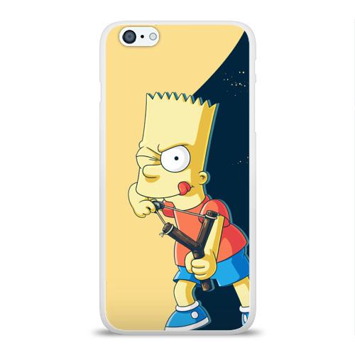 Чехол для Apple iPhone 6Plus/6SPlus силиконовый глянцевый  Фото 01, Барт