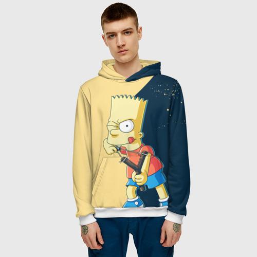 Мужская толстовка 3D  Фото 03, Барт