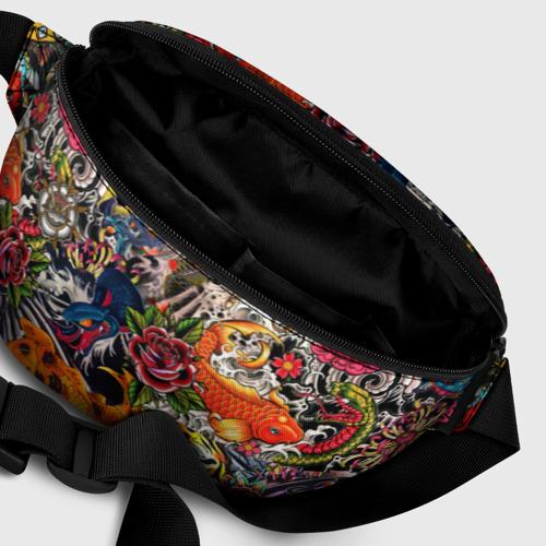 Поясная сумка 3D Dsquared tatoo Фото 01