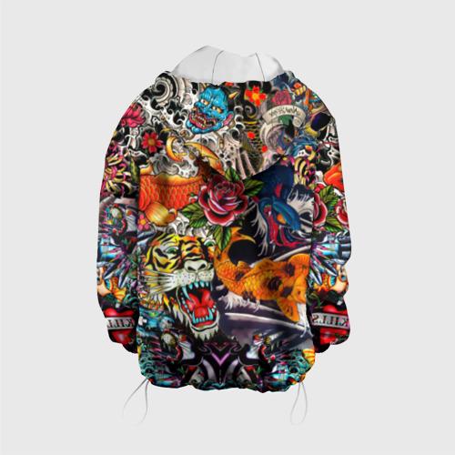 Детская куртка 3D Dsquared tatoo Фото 01