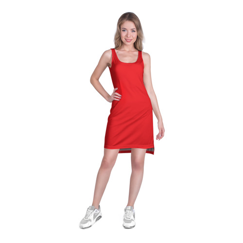 Платье-майка 3D  Фото 03, Pokeball