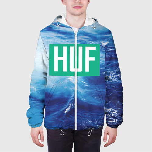 Мужская куртка 3D  Фото 04, HUF