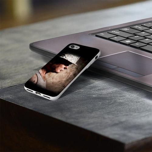 Чехол для Apple iPhone 8 силиконовый глянцевый  Фото 03, Шахтёр