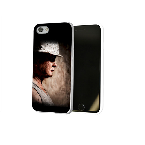 Чехол для Apple iPhone 8 силиконовый глянцевый  Фото 02, Шахтёр