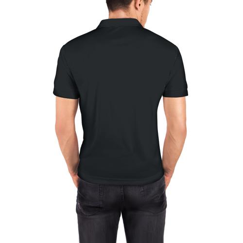 Мужская рубашка поло 3D  Фото 04, Java old school