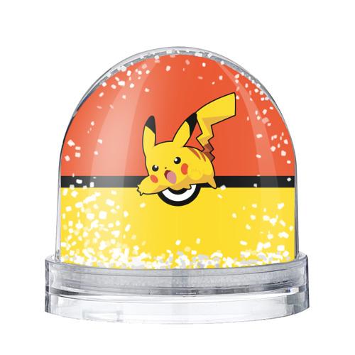 Водяной шар со снегом  Фото 01, Pikachu