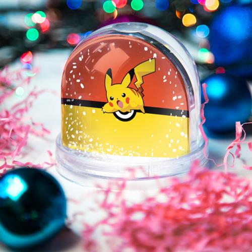 Водяной шар со снегом  Фото 03, Pikachu
