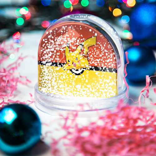 Водяной шар со снегом  Фото 04, Pikachu