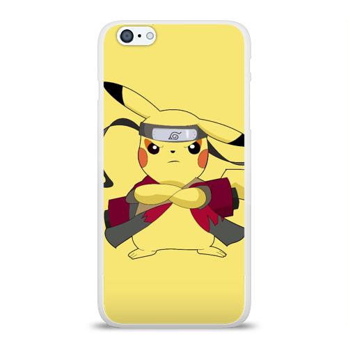 Чехол для Apple iPhone 6Plus/6SPlus силиконовый глянцевый Pikachu Фото 01