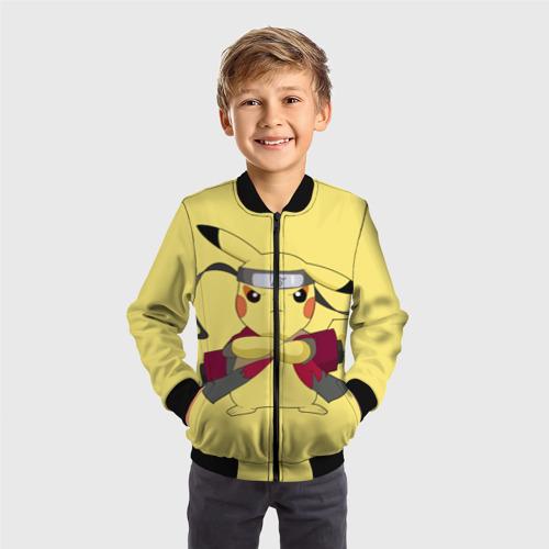 Детский бомбер 3D Pikachu Фото 01