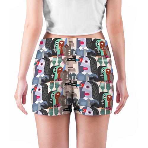 Женские шорты 3D  Фото 04, Импрессионизм 16