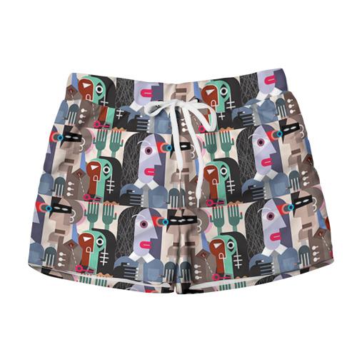 Женские шорты 3D  Фото 01, Импрессионизм 16