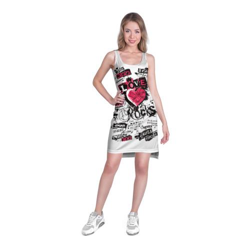 Платье-майка 3D  Фото 03, Рок сердца 4