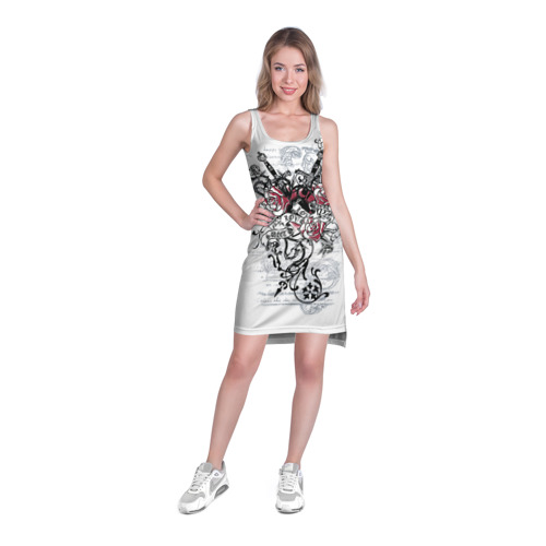 Платье-майка 3D  Фото 03, Рок сердца 5
