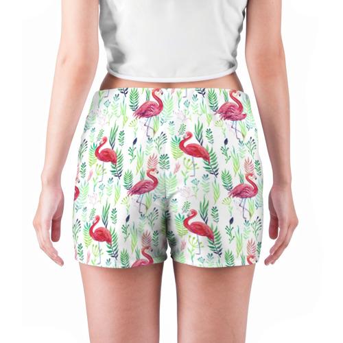 Женские шорты 3D  Фото 04, Цветы и бабочки 2
