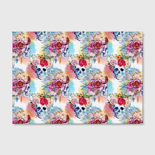 Холст прямоугольный  Фото 02, Цветы и бабочки 5