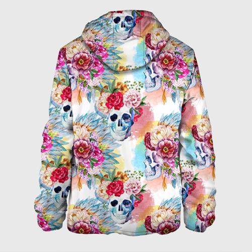 Мужская куртка 3D Цветы и бабочки 5 Фото 01