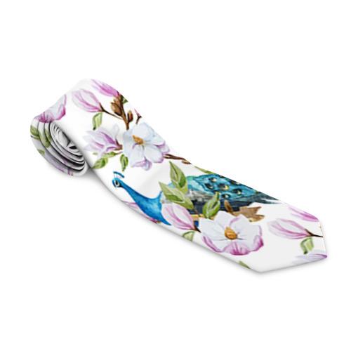 Галстук 3D  Фото 01, Цветы и бабочки 6