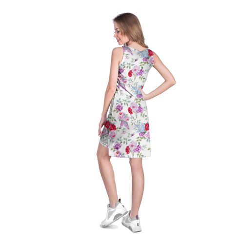 Платье-майка 3D  Фото 04, Цветы и бабочки 8