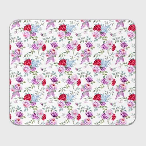 Коврик прямоугольный  Фото 01, Цветы и бабочки 8