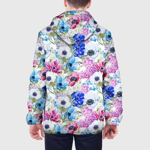 Мужская куртка 3D  Фото 05, Цветы и бабочки 9