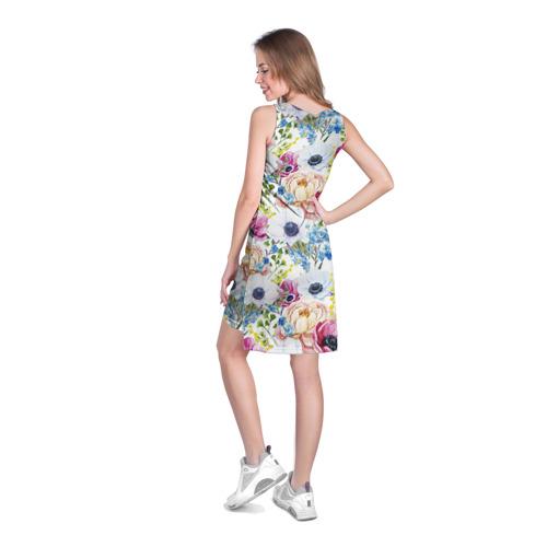 Платье-майка 3D  Фото 04, Цветы и бабочки 10