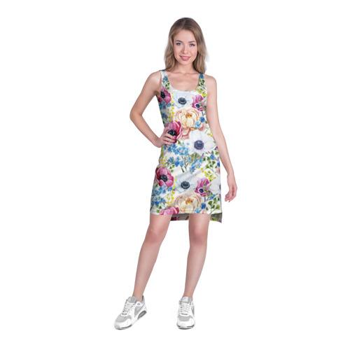 Платье-майка 3D  Фото 03, Цветы и бабочки 10