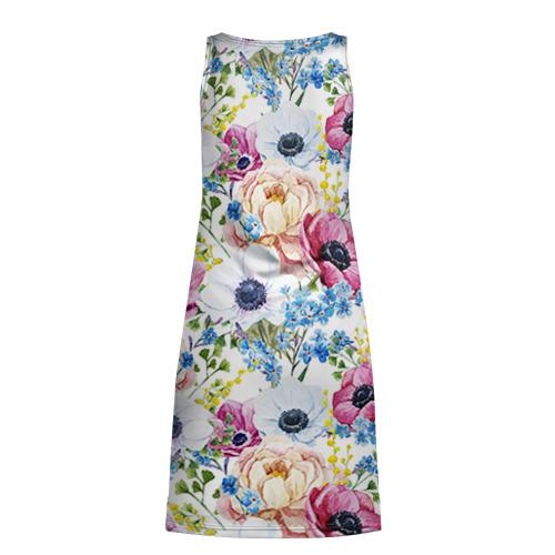 Платье-майка 3D  Фото 02, Цветы и бабочки 10