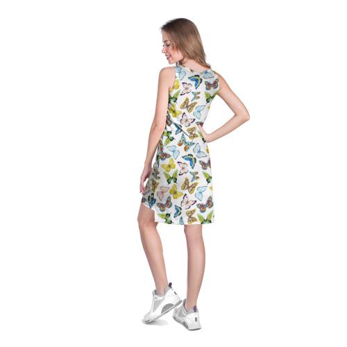 Платье-майка 3D  Фото 04, Цветы и бабочки 11