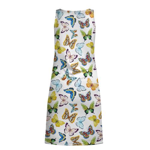 Платье-майка 3D  Фото 02, Цветы и бабочки 11