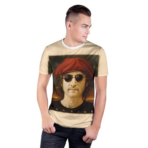 Мужская футболка 3D спортивная  Фото 03, Imagine