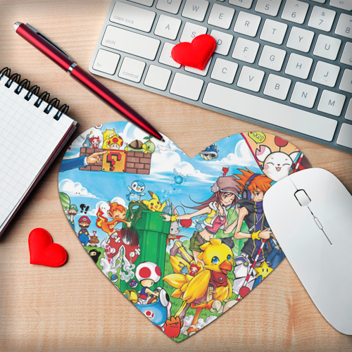 Коврик сердце  Фото 02, Соеров ТВ