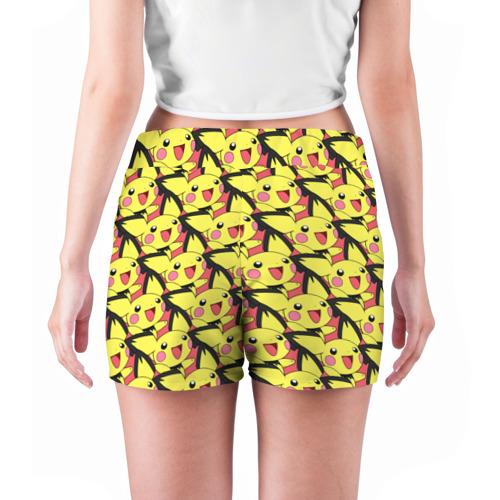 Женские шорты 3D  Фото 04, Pikachu