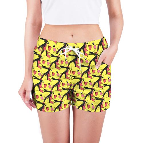 Женские шорты 3D  Фото 03, Pikachu