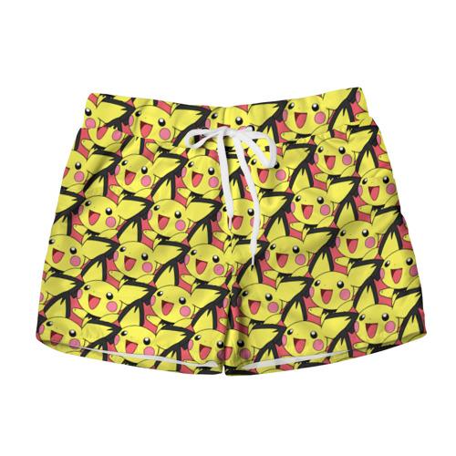 Женские шорты 3D  Фото 01, Pikachu