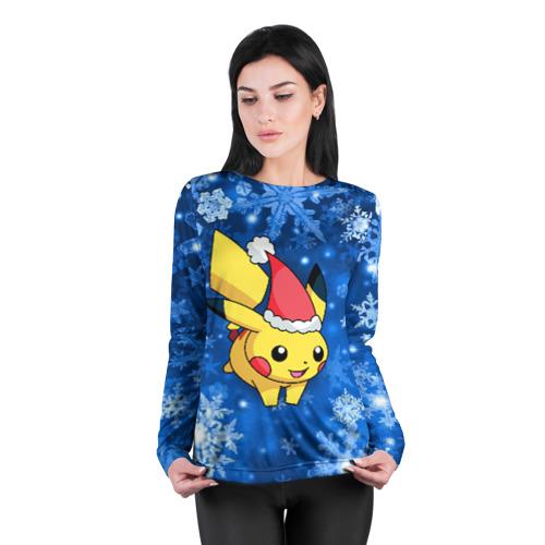Женский лонгслив 3D для беременных  Фото 04, Pikachu