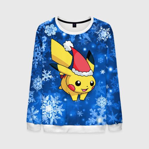 Мужской свитшот 3D Pikachu