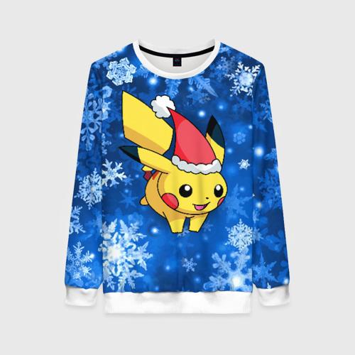Женский свитшот 3D Pikachu