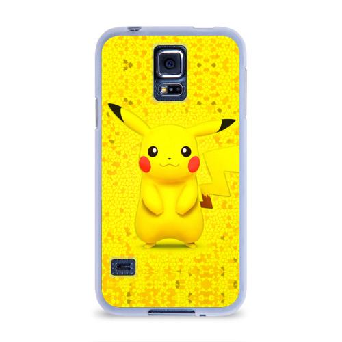 Чехол для Samsung Galaxy S5 силиконовый  Фото 01, Pikachu